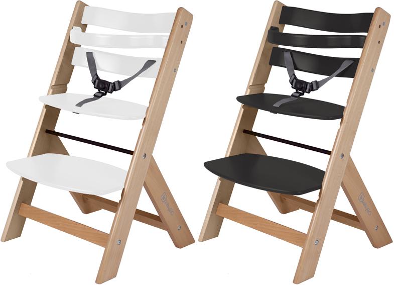 stufen baby kinder holz hochstuhl 7 farben neu ab 39 99 ebay. Black Bedroom Furniture Sets. Home Design Ideas