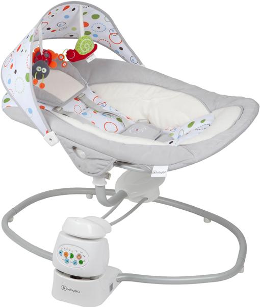 babywippe 360 rotation babyschaukel babyliege schaukelsitz tragesitz baby wippe ebay. Black Bedroom Furniture Sets. Home Design Ideas