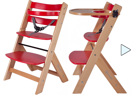 treppenhochstuhl tisch stufen baby kinder holz hochstuhl 7farben neu ab 49 90. Black Bedroom Furniture Sets. Home Design Ideas